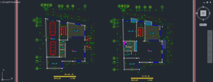 دانولد نقشه 3 طبقه