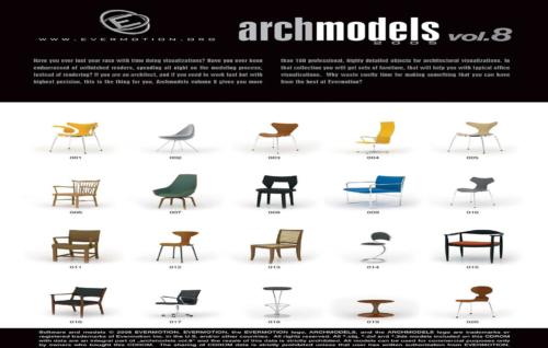 دانلود رایگان آرک مدل ولوم ARCHMODELS VOL.08
