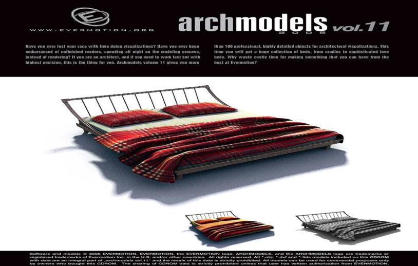 دانلود رایگان آرک مدل ولوم ARCHMODELS VOL.11