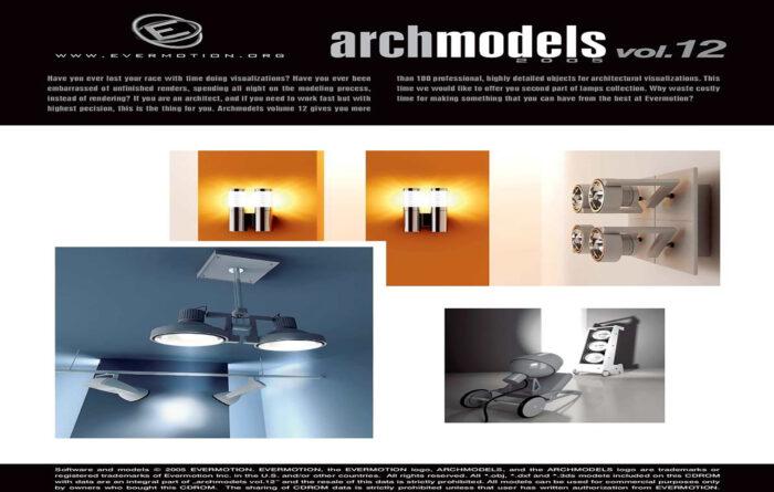 دانلود رایگان آرک مدل ولوم ARCHMODELS VOL.12