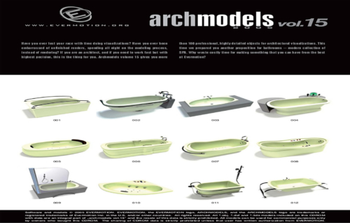 دانلود رایگان آرک مدل ولوم ARCHMODELS VOL.15