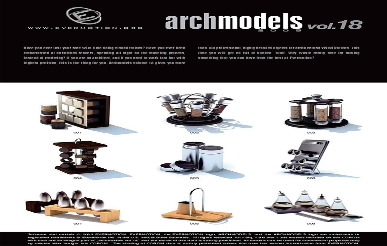 دانلود رایگان آرک مدل ولوم ARCHMODELS VOL.19