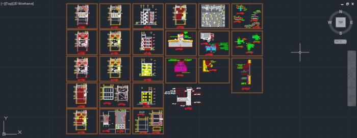 دانلود پروژه طراحی فنی ساختمان فاز 2