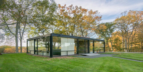 خانه شیشه ای فیلیپ جانسون