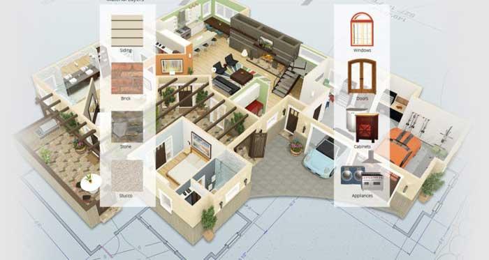 طراحی سه بعدی معماری