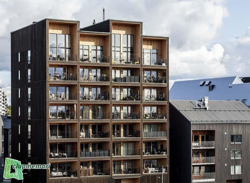 طراحی نمای ساختمان به انگلیسی
