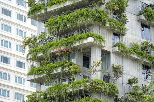 طراحی نمای ساختمان مدرن