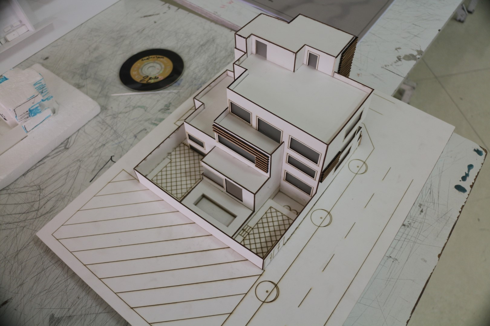 طرح دو معماری مسکونی