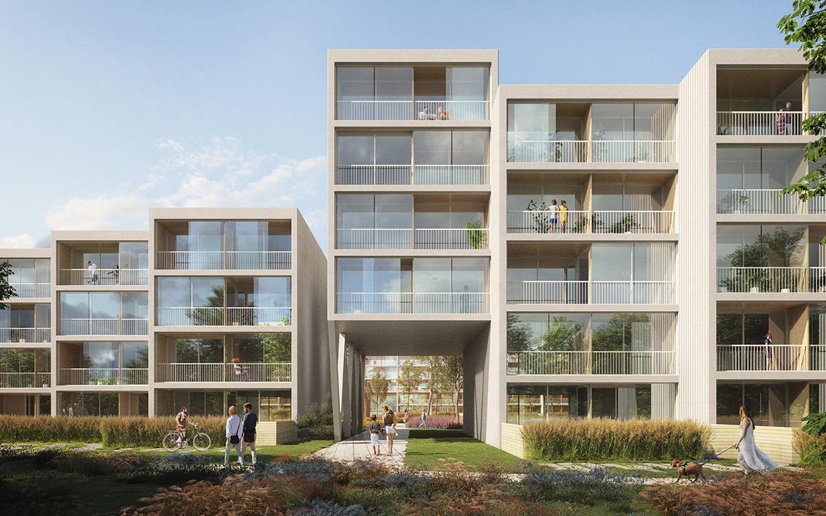 طرح نهایی مجتمع مسکونی