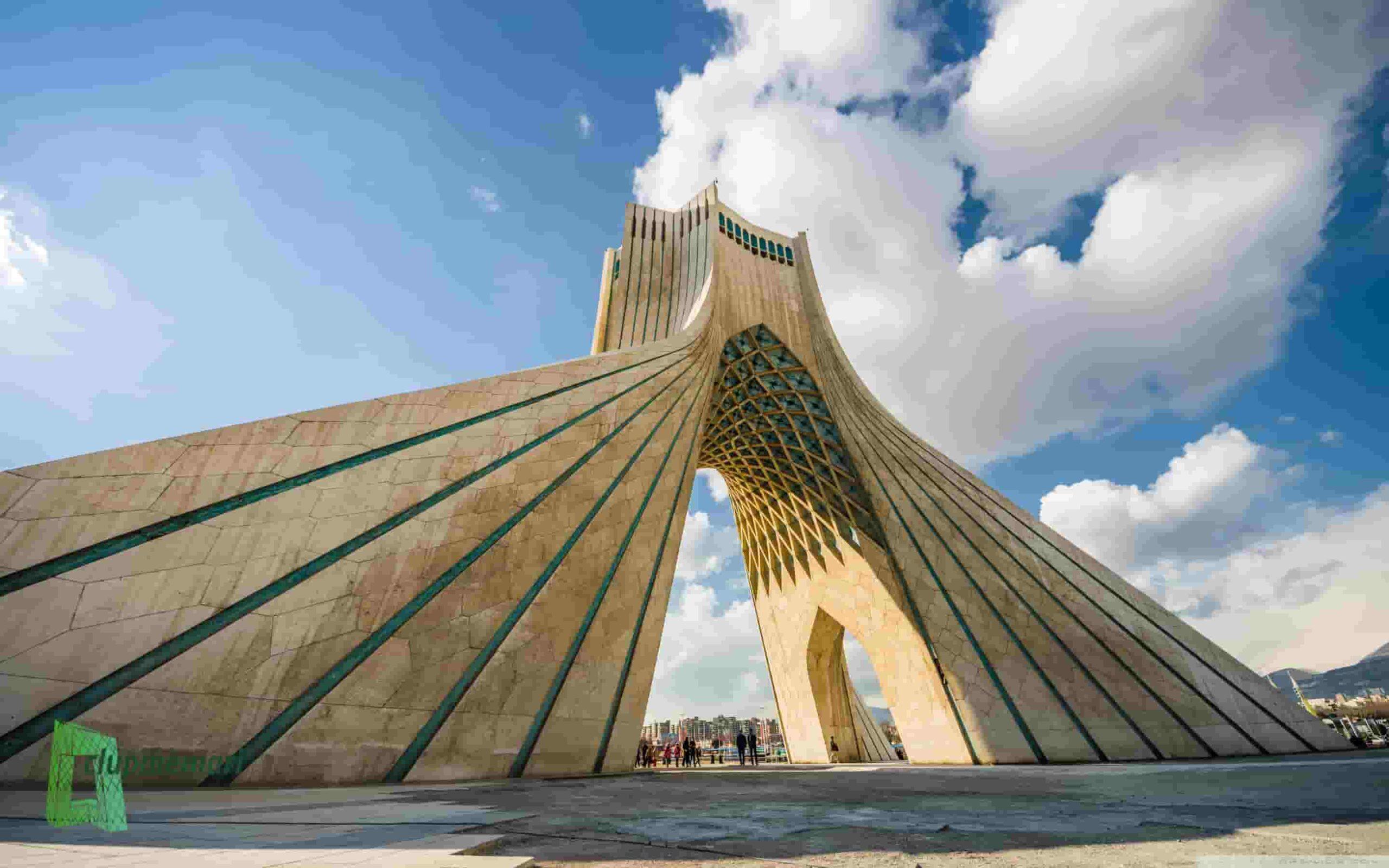 ساختمان معروف در تهران