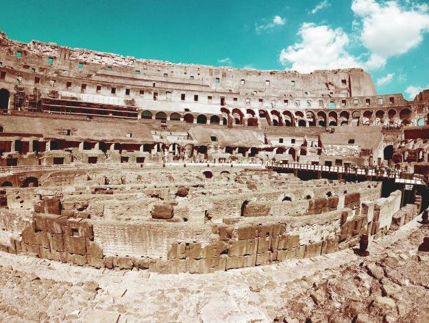 نمای رومی ساده ، نمای رومی