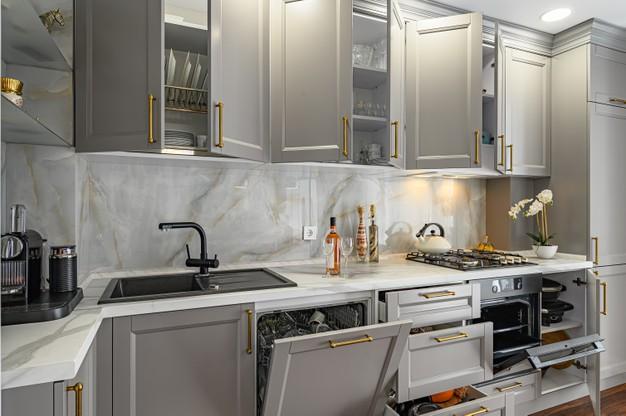 کابینت های مدرن ، طراحی کابینت آشپزخانه کوچک