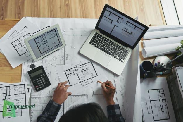 نقشه کشی ساختمان ساده