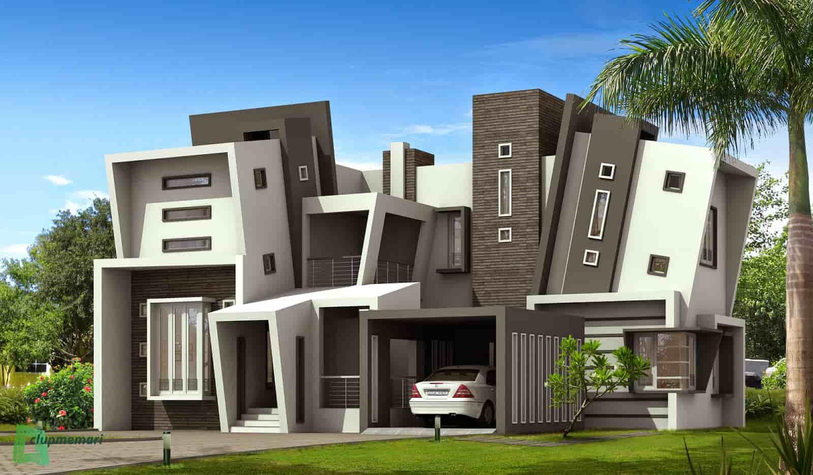 طراحی بیرونی ساختمان مسکونی